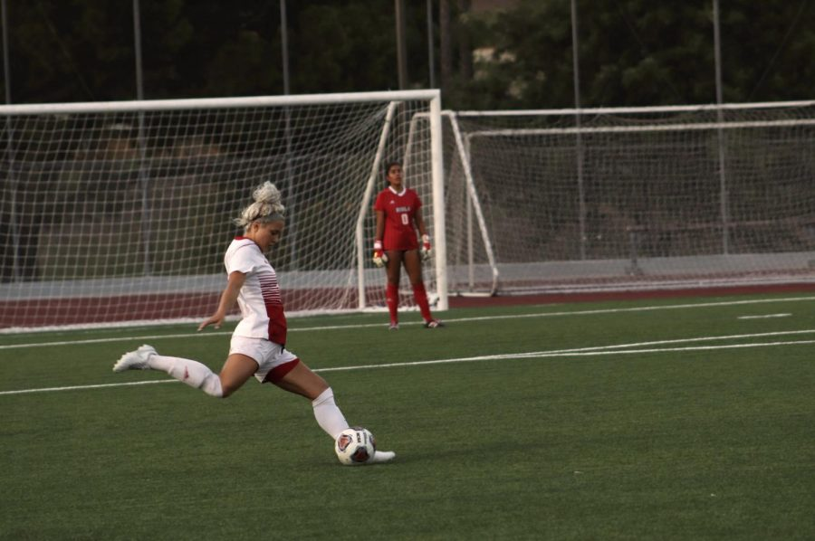Women's soccer wins against Concordia