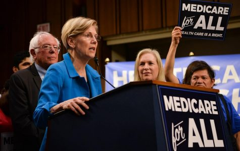 Massachusetts Sen. Elizabeth Warren proposes Medicare for All.