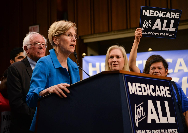 Massachusetts Sen. Elizabeth Warren proposes Medicare for All.