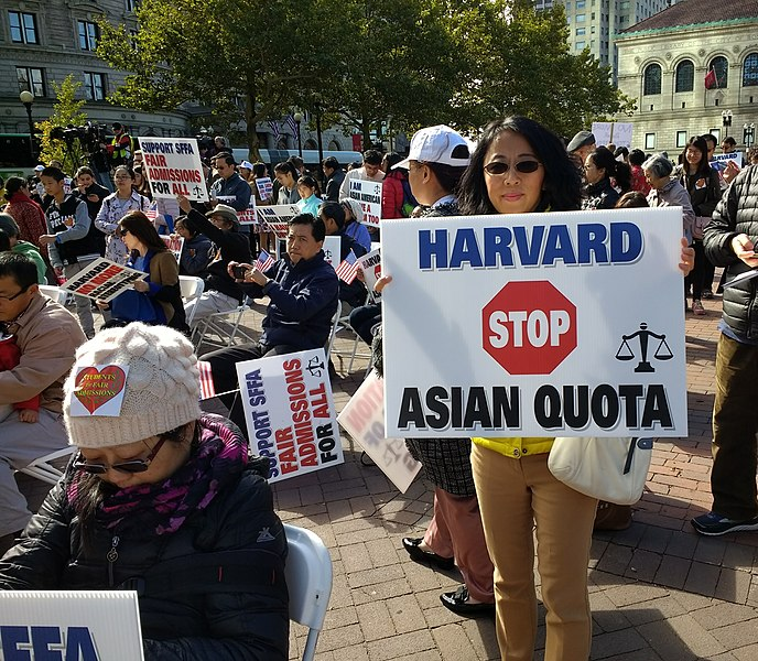Asian+Americans+protest+implementing+affirmative+action+processes+at+Harvard+University%2C+as+unfair+standards+discriminate+against+minorities.+