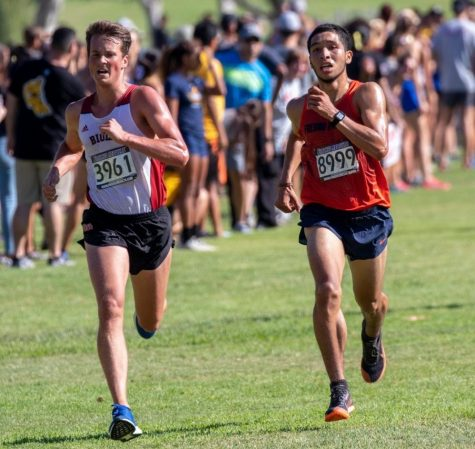 Men's cross country grabs first win of season