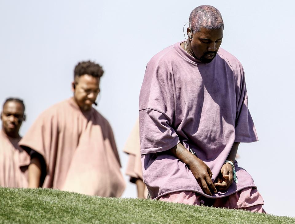 Kanye West shifts his music to gospel instead of secular music.