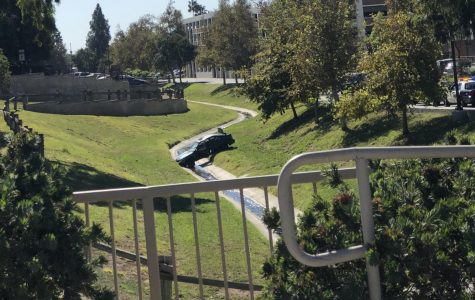 LASD arrests man who crashed car into creek near La Mirada entrance