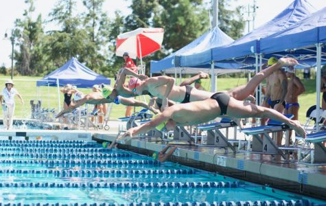 Men's swim team takes the podium while women's dive was short-handed at Pepperdine Invitational