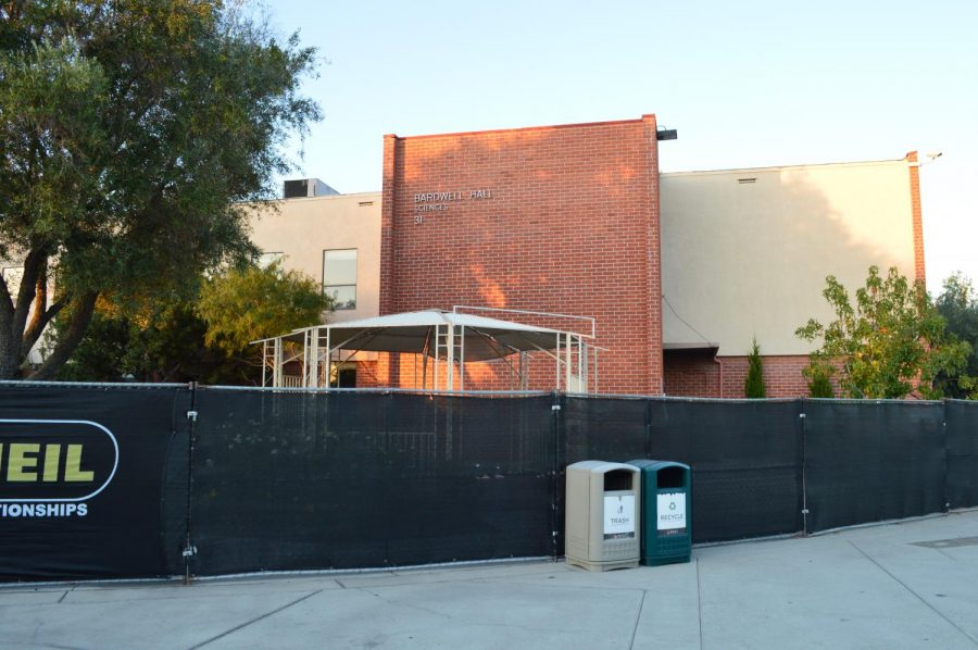 The old science building, Bardwell Hall, is going through the remodeling process as it lands a new purpose as the main building for Biola's Department of Art.