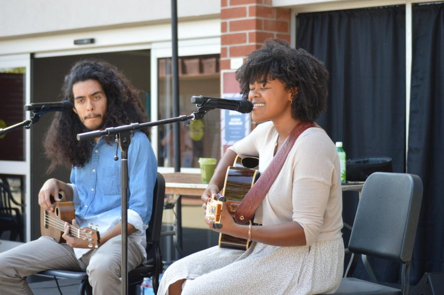 Alumna Arielle Howell and Talbot student Ray Quiñones collaborate to present raw, meaningful folk tracks heavily inspired by nature's beauty.