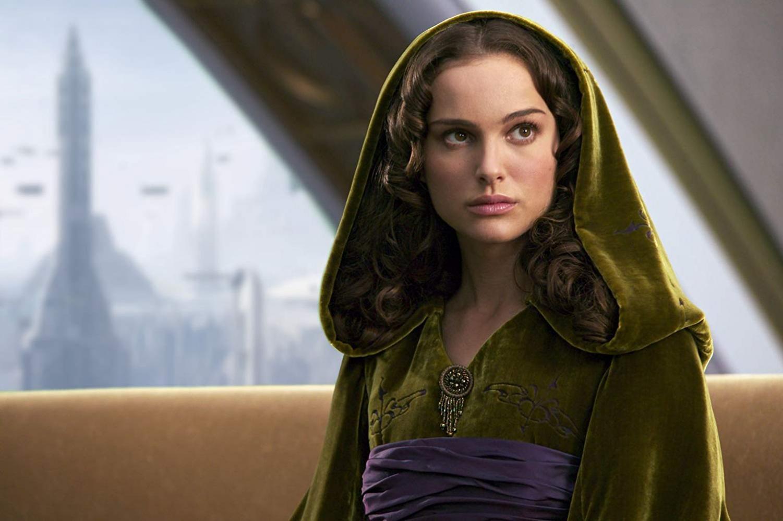 Actress Natalie Portman portrays Padmé Amidala in Star Wars.