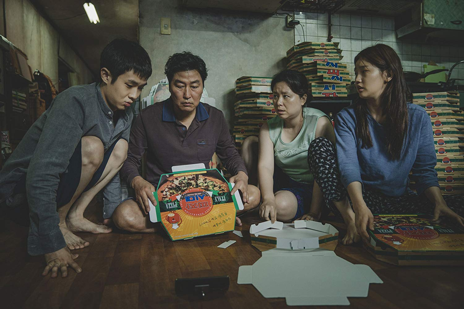 While Bong's international satirical-thriller presents comedic elements, it also takes audiences through a dark journey of difficult socioeconomic differences.