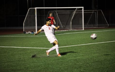Men's soccer prevails over Dominican