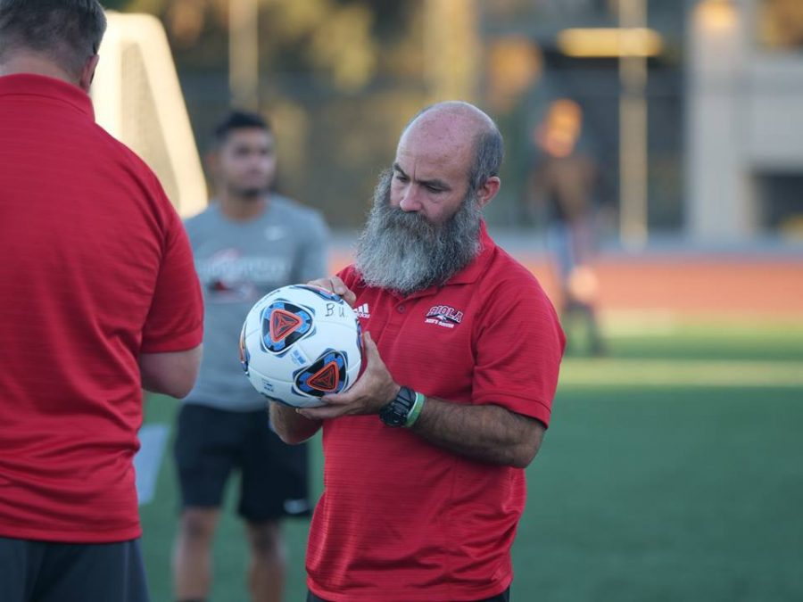 Todd Elkins coached soccer at Biola for 16 years before stepping down.