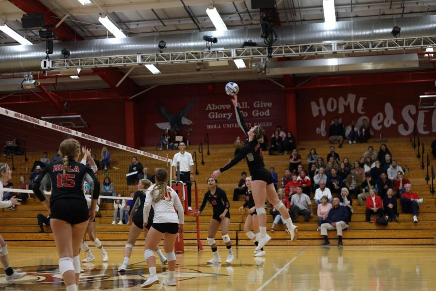 Volleyball crushes Dominican University in 3-0 victory