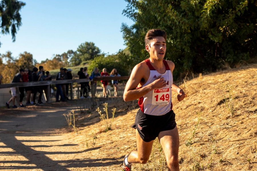 Men's cross country earns a top-25 finish at National Championship race
