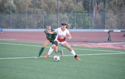 Women's soccer ties conference champion PLNU on senior night