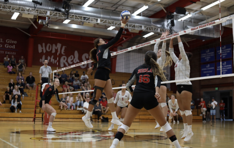 Women's Volleyball loses at home to APU