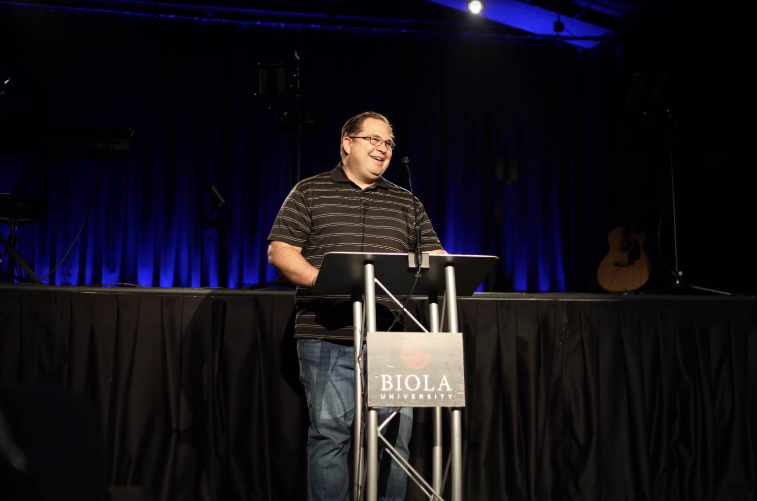 Pastoral care and counseling major Joshua Fouch shares his testimony.