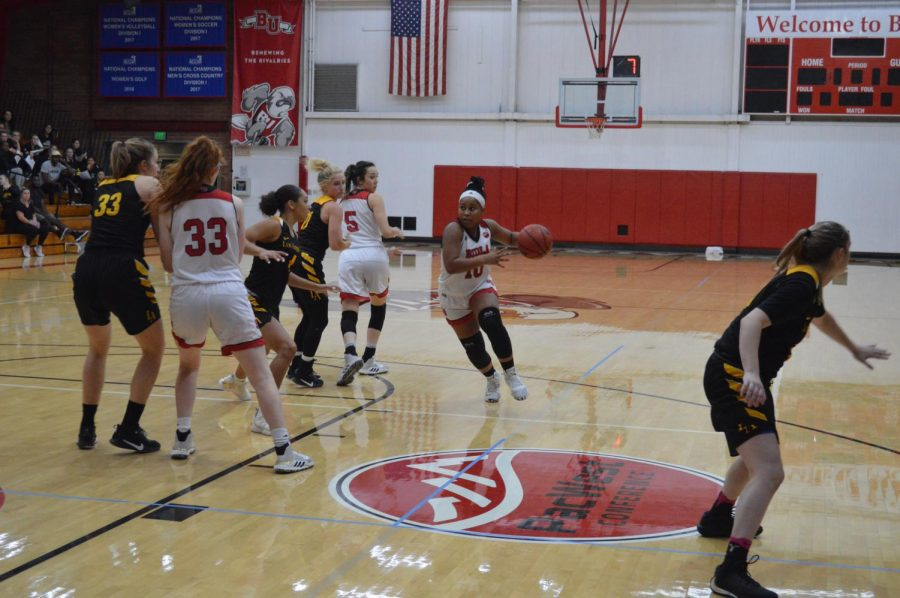 Eagles drop second loss of season against California State University, Dominguez Hills.