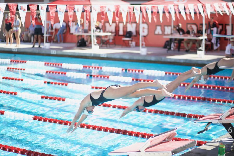Women's swim and dive crushes APU