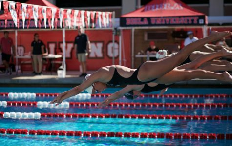 Swim and dive shatters records at the Collegiate Winter Invite