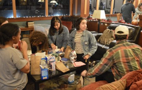 At the fourth annual GRITmas, students came together to serve homeless women by making care packages.