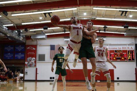 Men's basketball fell short in high-intensity Cornerstone Cup