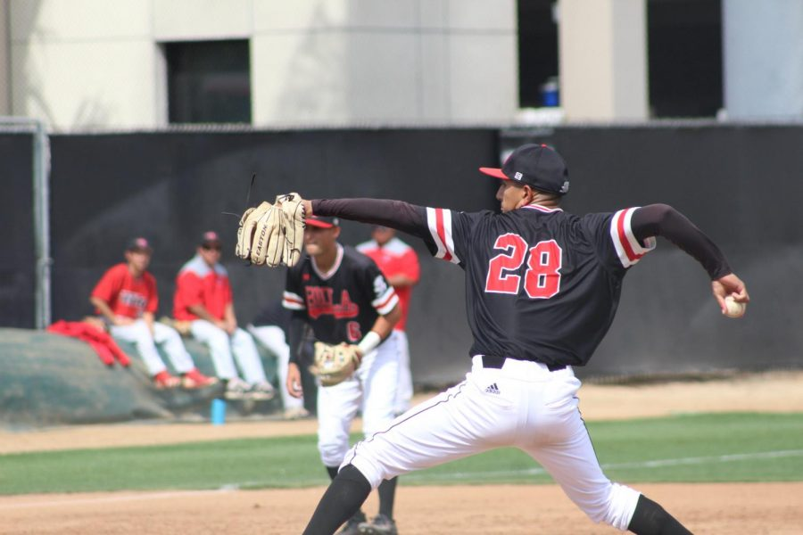 Baseball grabs two early wins against California State University, Monterey Bay.