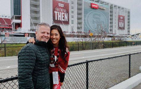 Dale Gustafson passed down the 49er's spirit to daughter Anna Gustafson.
