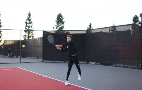 Men's tennis narrowly misses out against University of California, San Diego