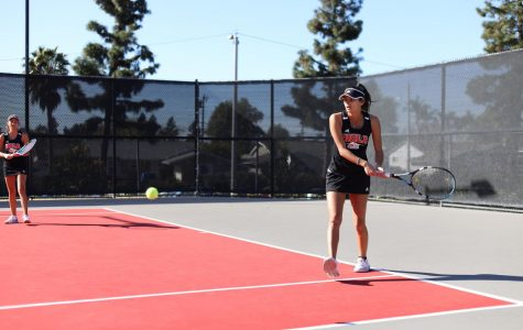 Women's tennis fall short to Westmont College