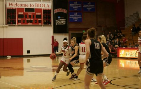 Women's basketball clenches victory over FPU