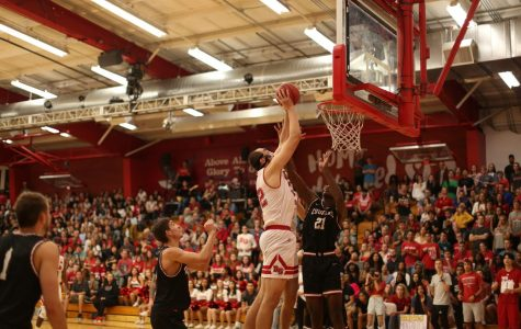 Men's basketball fell short in high-intensity Cornerstone Cup