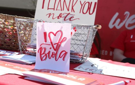 'I Heart Biola' week celebrates the university with gratitude