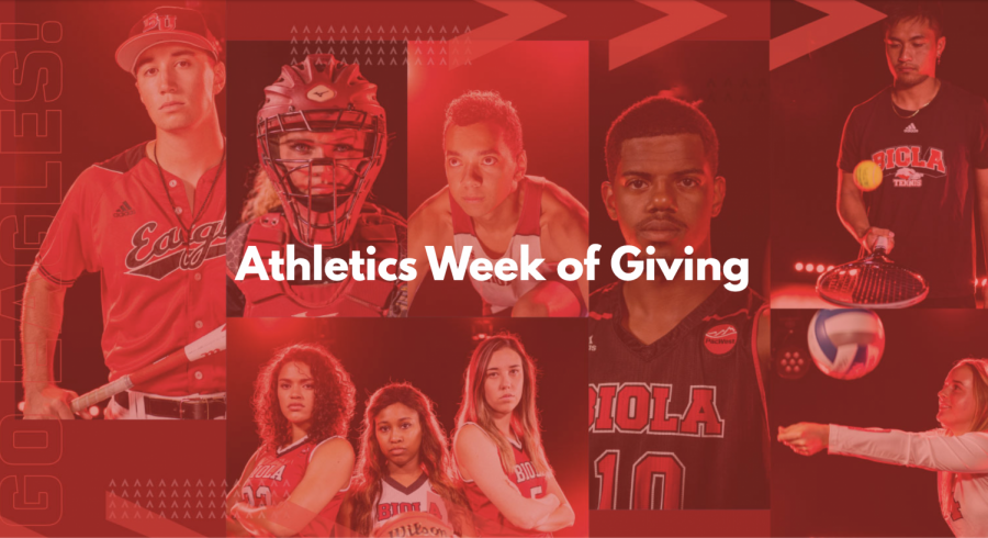 "Athletics ""Week of Giving"" raises over $43,000"