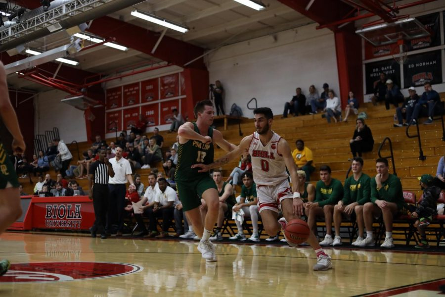 Biola's Cinderella story was led by junior Michael Bagatourian, who hit the game-winning three to defeat APU and send BU to the championship round.