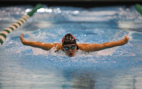 Sophomore Katelyn Harper heads to the Eagles' first-ever swim and dive NCAA Championship in Geneva, Ohio.