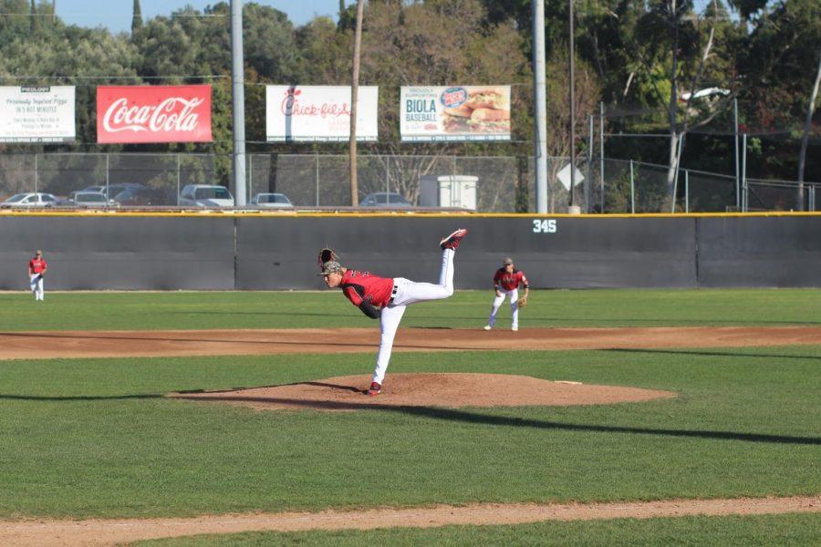 Baseball on a seven-game winning streak