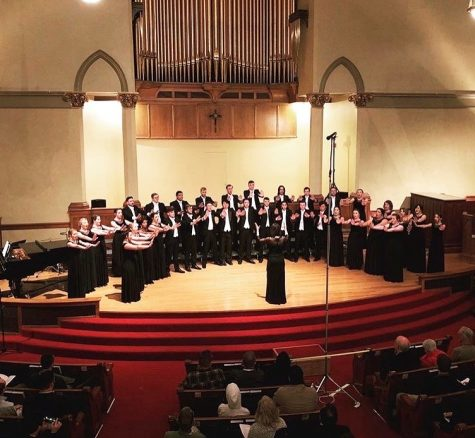 Members of Biola chorale spend their summer break in Salt Lake City, Utah.