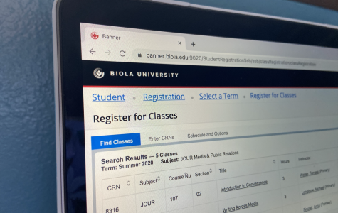Online registration for Fall 2020 pushed back