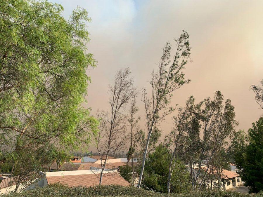 Wildfires erupt near Yorba Linda