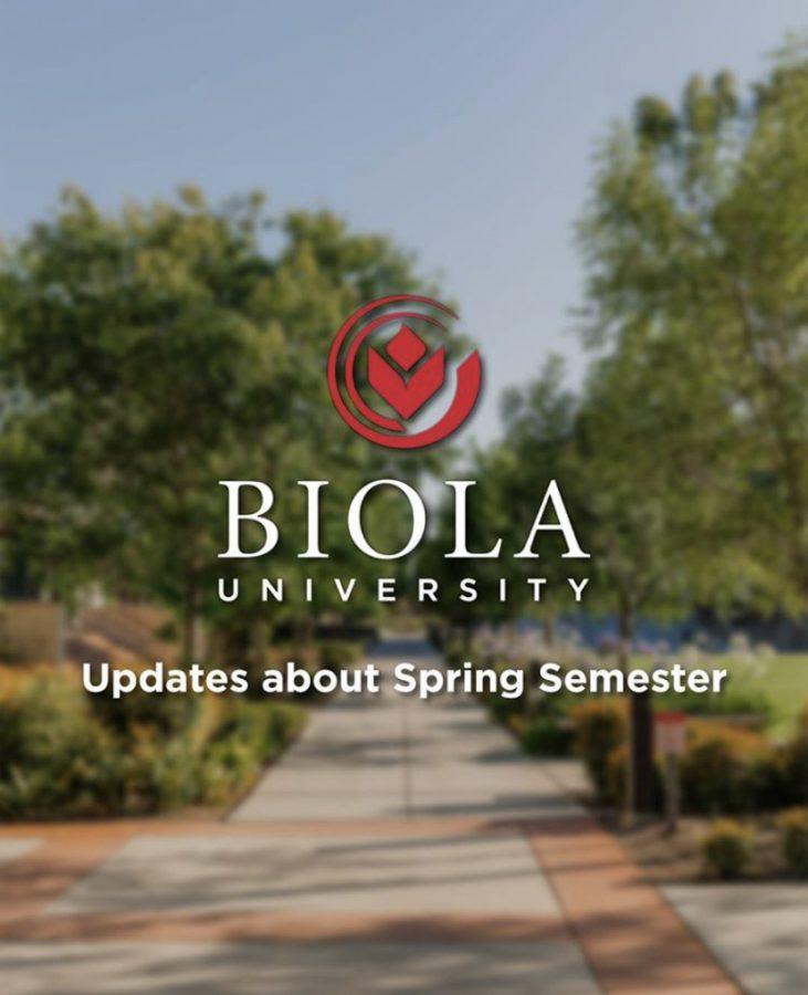 President Corey updates Biola on Spring 2021 plans