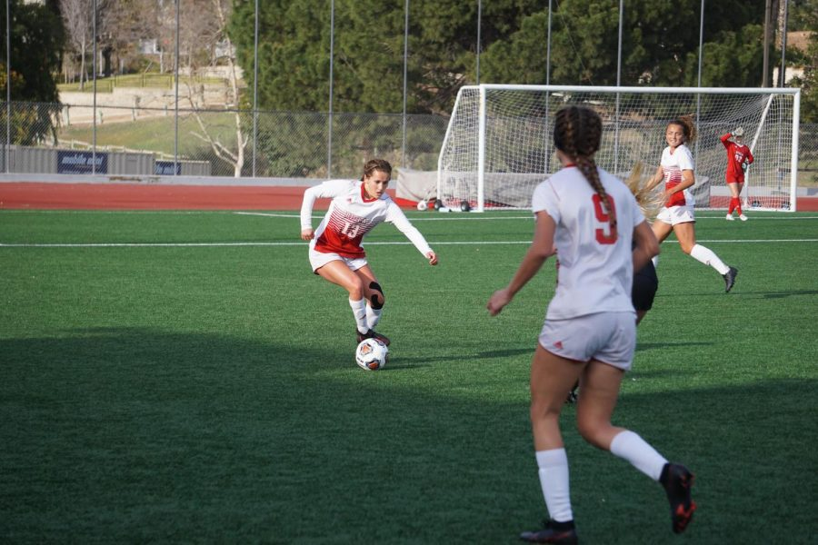 Women's soccer secures first win of the season