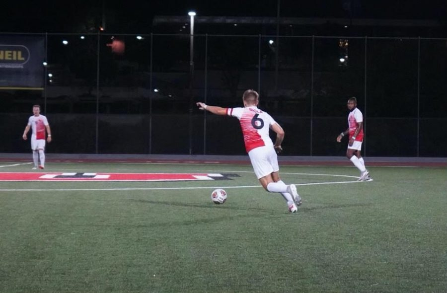 Men's soccer suffers first loss of the season
