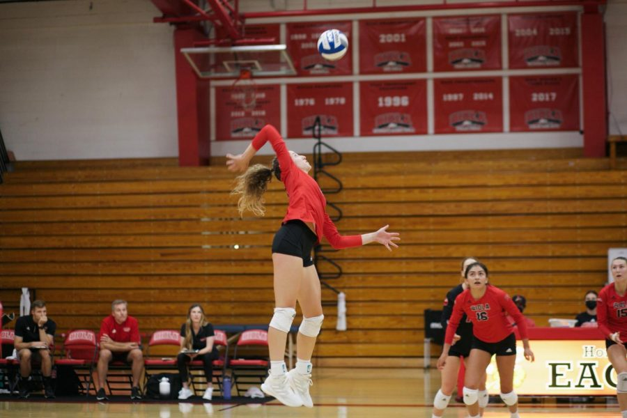 Volleyball wins home opener
