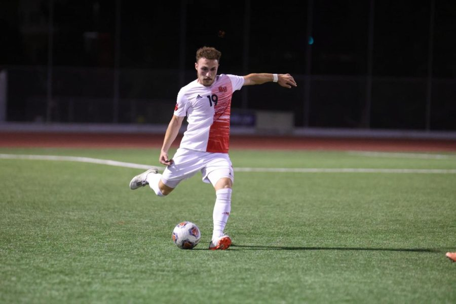 Men's soccer win big in Hawaii