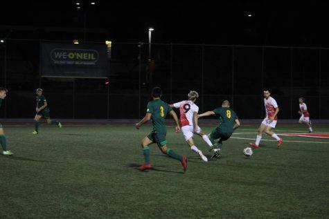 Men's soccer triumphs over Fresno Pacific University